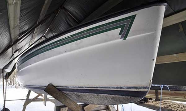 båtfärg till plastbåt