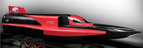 världens snabbaste båt