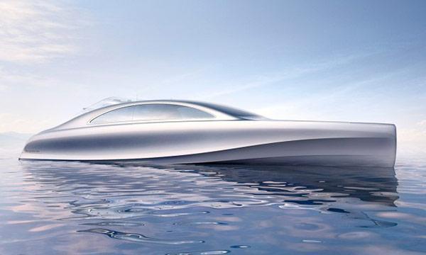 Bildspel: Läckra Mercedesbåten snart sjösatt