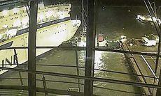 TV: Bogserbåten förhindrar fartygskrasch i sista sekunden