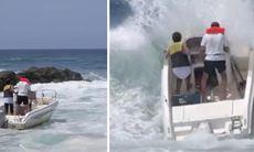 TV: Vansinniga båtturen – över på några sekunder