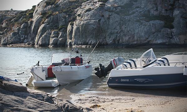 Felförtöjd båt blev grannfejd