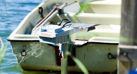 elmotor för båt