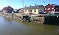 Tidsnöd för renovering av raserad Göta kanal-kaj