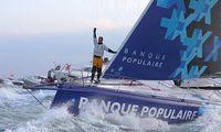 TV: Armel Le Cléac'h och Banque Populaire vinner Vendée Globe – på tredje försöket