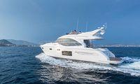 TV: Följ med ombord Princess 49 – mässans största motorbåt