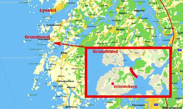 grundsund karta Ny svensk kanalväg kan invigas 2018   Livetombord.se grundsund karta